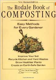 rodale book of composting book cover