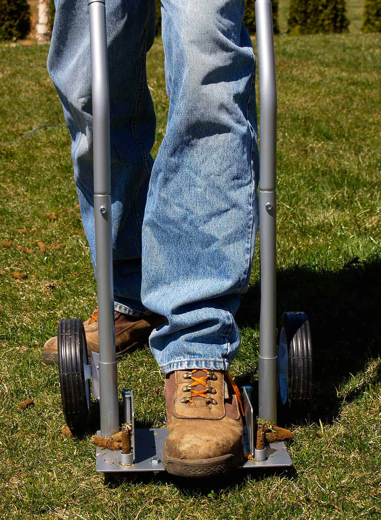 Step 'N Tilt Core Lawn Aerator Review